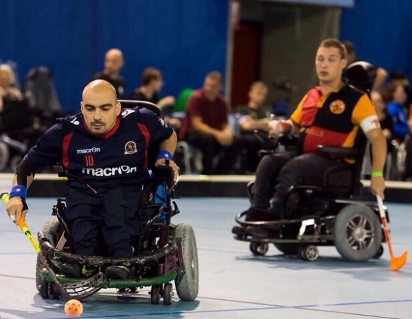 Wheelchair hockey, Macron Warriors Viadana quarti a Eindhoven