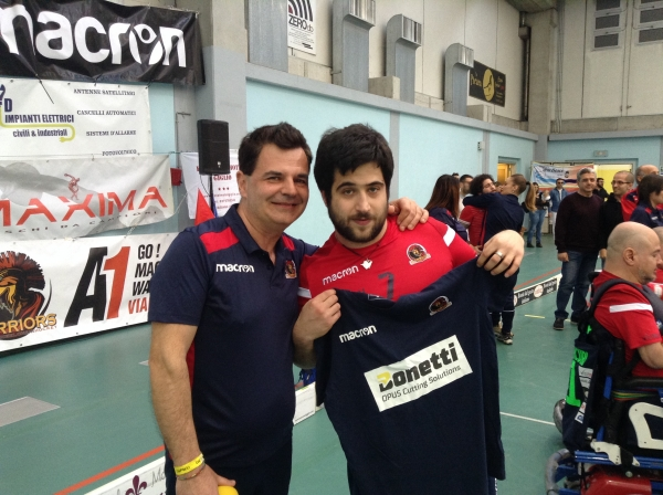 Giovanni Camponesco è l'MVP della gara fra Macron Warriors Viadana vs Vitersport Viterbo
