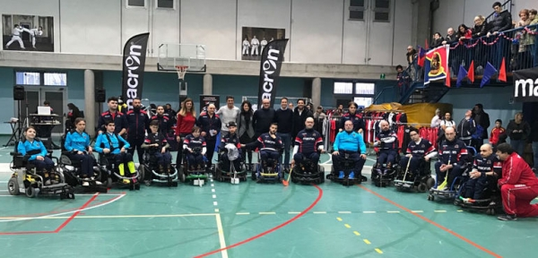 "Serie A1 Wheelchair Hockey: I ""Macron Warriors"" inseriti nel Girone B"