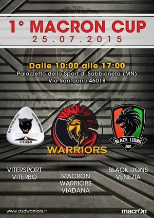 WHEELCHAIR HOCKEY: A MANTOVA LA 1° MACRON CUP